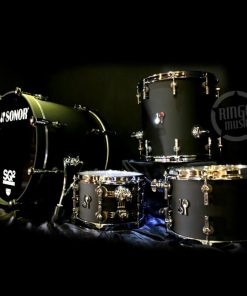 Sonor Sq2 Maple Birch Beech Acrylic Drum Drums Drumset Batteria Germany Dark Satin
