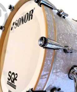 Sonor Sq2 Maple Birch Beech Acrylic Drum Drums Drumset Batteria Germany White Marine Pearl