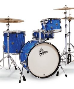 gretsch catalina fusion 20 blue satin flame drums batteria drum drumset