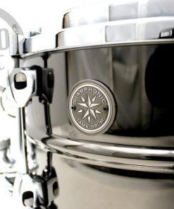 Tama Starphonic Steel Black Nickel Acciaio Drum Drums Snaredrum Snare 13x7 PST137 Rullante