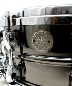 Tama Starphonic Steel Black Nickel Acciaio Drum Drums Snaredrum Snare 14x6 PST146 Rullante
