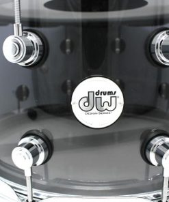 DW Drum Workshop Design Smoked Acrylic Vistalite Limited Edition 14x8 Snaredrum Drumsnare Snare Rullante