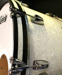 Ludwig Classic Maple Fab 4 Four L84233AX0P White Marine Pearl Drum Drums Batteria