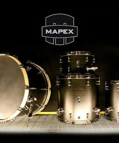 Mapex Black Panther Design Lab Cherry Bomb 22 BPDLC528X BFB Satin Black batteria drumset ciliegio drums drum