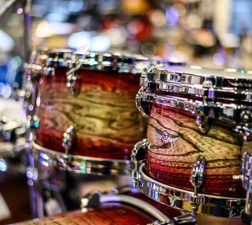 Tama Star Walnut Garnet Japanese Sen Burst 22 10 12 16 Drum Drums Drumset Batteria