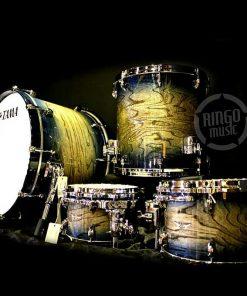 Tama Star Walnut Indigo Japanese Sen Burst AIJB 22 10 12 16 TW42RZS Drum Drums Drumset Batteria