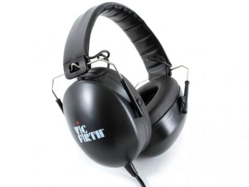 Vic Firth SIH1 Stero Headphones Professional Isolation Cuffie Batteria Drummers
