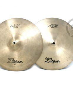 Zildjian New Beat 14 Hi-hat Hats Charleston Charly Piatto Piatti Cymbal Cymbals
