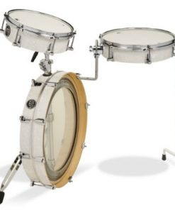 dw performance low pro 3pc white marine drums drumset batteria