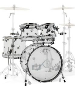 dw design acrylic drums drumset set batteria