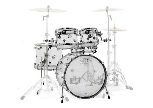 dw design acrylic drums drumset set batteria
