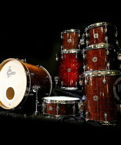 Gretsch Catalina Maple Club Walnut Glaze Drum Drumset Drums Batteria Custom Limited Edition