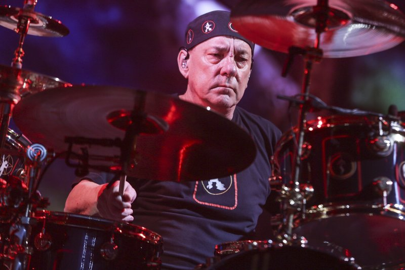 Neil Peart Drum Drummer Rush