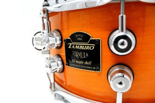 Tamburo Formula All Maple Acero 14x6,5 Amber Maple Lacquer Drum Drums Drumsnare Snaredrum Rullante