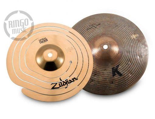 Zildjian Stack2 Stac 2 Spiral Stacker 10 K Custom Special Dry Splash Cymbal Cymbals Piatto Piatti PCS002