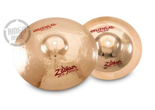 Zildjian Stack3 Stack 3 Oriental FX Trash Splash 11 China Trash 8 Cymbal Cymbals Piatto Piatti PCS003