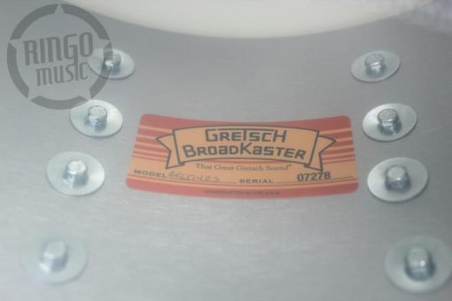 Gretsch Broadkaster Usa 14x6,5 Satin Azure Blue Drum Drums Drumsnare Snaredrum Snare Rullante