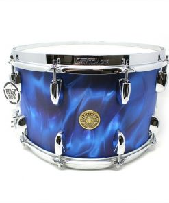 Gretsch Broadkaster Usa 14x8 Peacock Satin Flame Drum Drums Drumsnare Snaredrum Snare Rullante