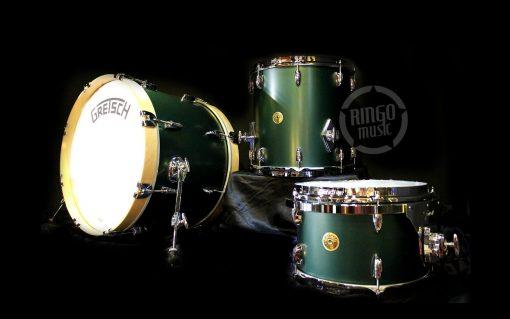 Gretsch Broadkaster Usa Satin Cadillac Green Drum Drums Drumset Batteria