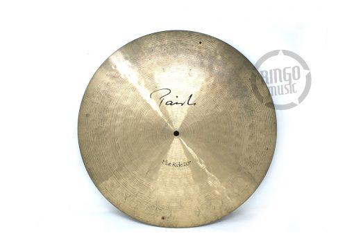 Paiste Signature Flat Ride Rivets Sizzle Rivet 20 Cymbal Cymbals Piatto Piatti