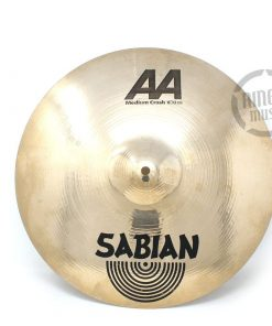 Sabian AA Medium Crash 16 Cymbal Cymbals Piatto Piatti