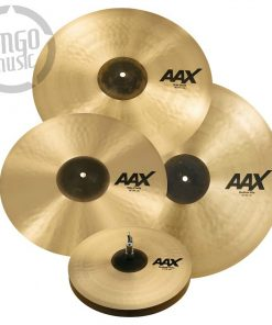 Sabian AAX Performance Set Medium Thin Hi-hat Hats Charleston Crash Ride 25005XCPB Set Pack Cymbal Cymbals Piatto Piatti