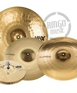 Sabian HHX Evolution Pack Set 15005XEB Hi-hat Hats Charleston Crash Ride Set Pack Cymbal Cymbals Piatto Piatti
