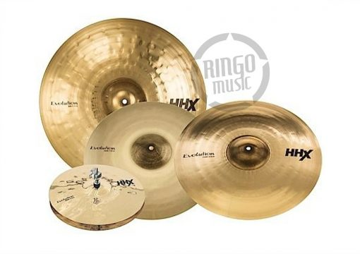Sabian HHX Evolution Pack Set 15005XEB Hi-hat Hats Charleston Crash Ride Set Pack Cymbal Cymbals Piatto Piatti