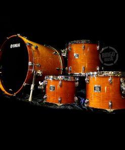 Yamaha Oak Custom Drum Drums Drumset Batteria Honey Amber