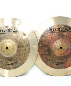 Istanbul Mehmet Hamer Hi-hat 15 Hats Charleston Charly Piatto Piatti Cymbal Cymbals