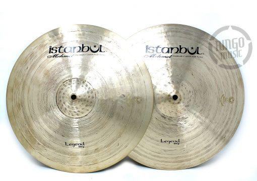 Istanbul Mehmet Legend Dry Hi-hat 15 Hats Charleston Charly Piatto Piatti Cymbal Cymbals