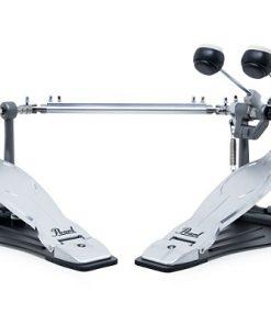 Pearl P-1032 Eliminator Solo Black twin pedal doppio pedale