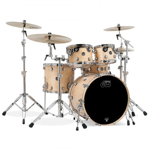 dw performance lacquer 20 10 12 14 natural lacquer batteria drums drumset acero maple