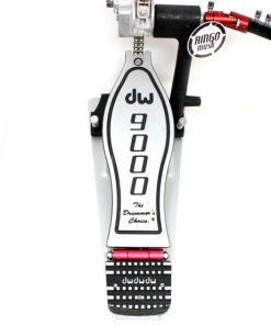 DW 9000 Double Pedal 9002PC Bass Drum Pedale Doppio Cassa Batteria Drums