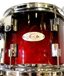 DrumCraft Series 8 Cardiac Burst Maple 22 Drum Drumkit Batteria
