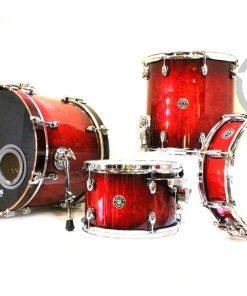 "Gretsch Catalina Club Jazz 18"" Gloss Crimson Burst CT1-J484 Drum Drums Drumset Drumkit Batteria"