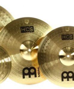 Meinl HCS Cymbal Set Cymbals Piatto Piatti HCS141620+10