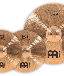 Meinl Set Piatti Piatto Cymbal Cymbals HCS Bronze HCSB14161820