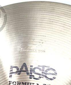 Paiste Formula 602 Light Hi-hat 15 Vintage 1972 Hats Charleston Cymbal Cymbals Piatto Piatti