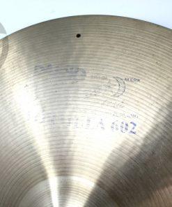 Paiste Formula 602 Medium Ride 20 Vintage 1977 Sizzle Rivets Cymbal Cymbals Piatto Piatti