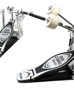 Tama Iron Cobra 200 HP200PTW Double Pedal Bass rum Pedale Doppio Cassa Batteria