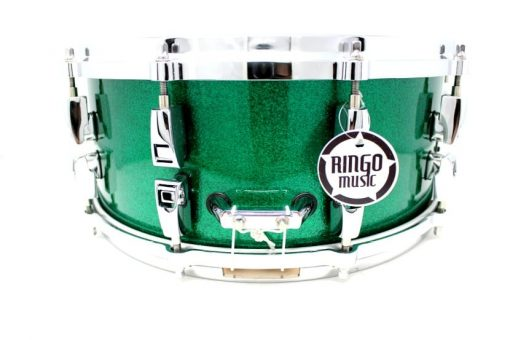 Yamaha Absolute Hybrid Maple Wenge 14x6 AMS1460-JGS Jade Green Sparkle Snare Drumsnare Snaredrum Drum Batteria Rullante