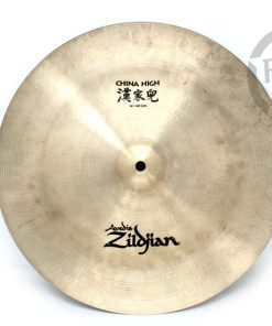 "Zildjian China High 16"" Cymbal Drum Batteria Piatti"
