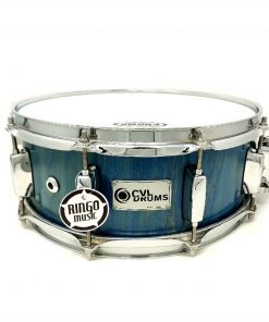 CVL Drums Snare 14x5.5 Betulla Turquoise Lacquer Drum Snaredrum Batteria Rullante