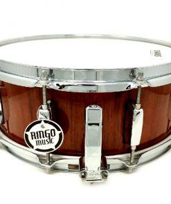 CVL Drums Snare 14x5.5 Bubinga Natural Wood Drum Snaredrum Batteria Rullante