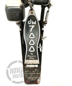 DW 7002 PT Pedale Doppio Cassa Catena Double Pedal Chain Drum Drums Batteria