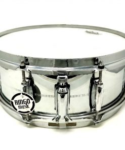 Gretsch Brooklyn Steel Acciaio GB4155 14x5.5 Snaredrum Drum Drums Batteria Rullante