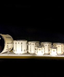 Ludwig Classic Maple USA Monster Set Drum Drums Drumset Batteria White Marine Pearl