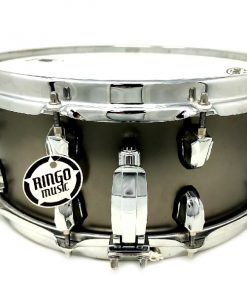 Mapex Black Panther Matt Halpern Signature 14x6 Satin Black Brass Drum Drums Snare Snaredrum rullante batteria
