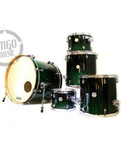 Mapex Meridian Birch Black Forest Fade 22 Drum Drumset Batteria